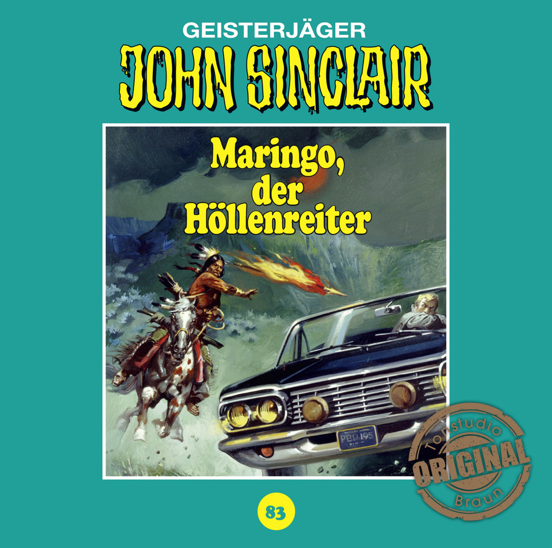 John Sinclair Tonstudio Braun - Folge 83: Maringo, der Höllenreiter
