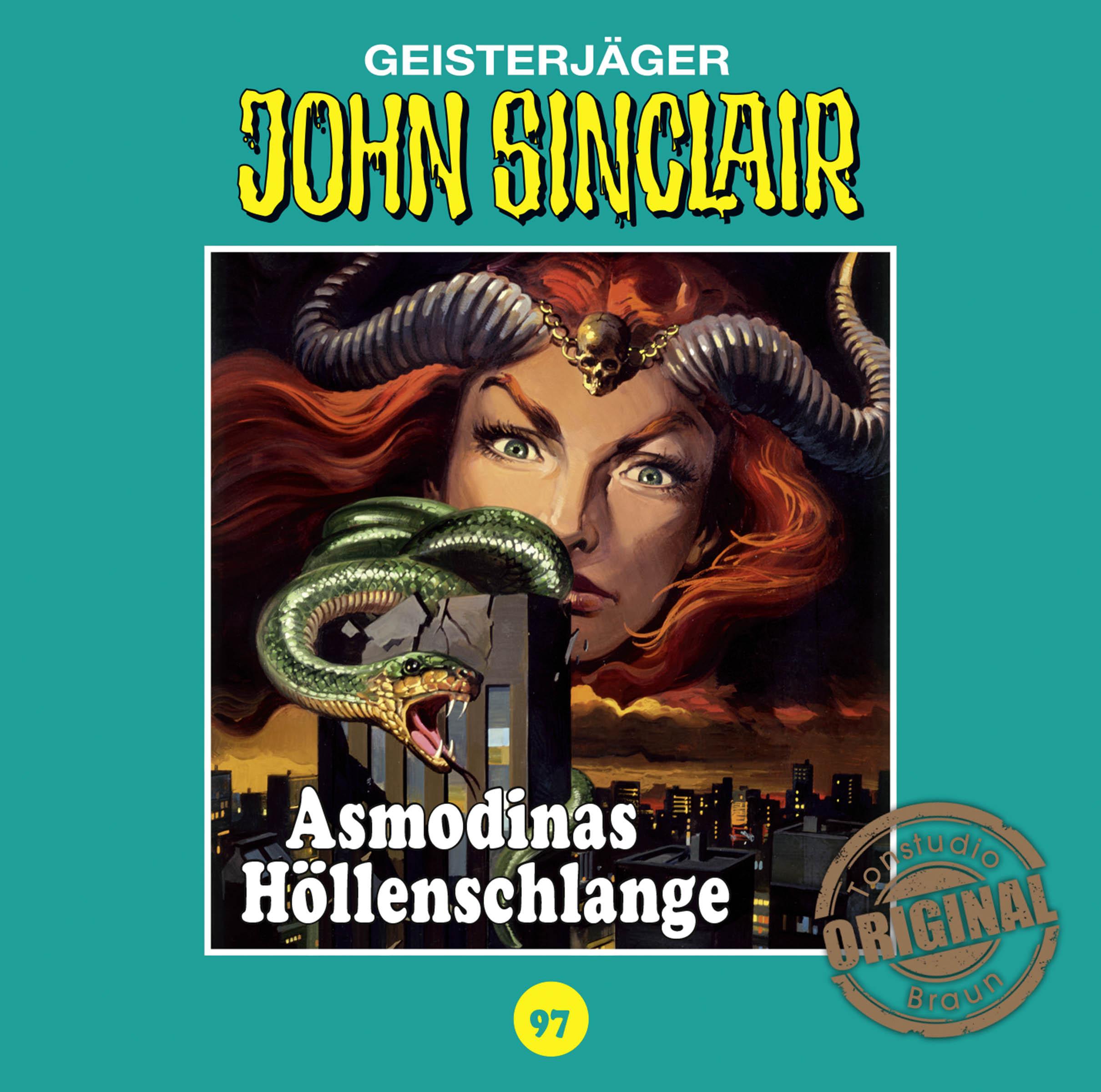 John Sinclair Tonstudio Braun - Folge 97: Asmodinas Höllenschlange