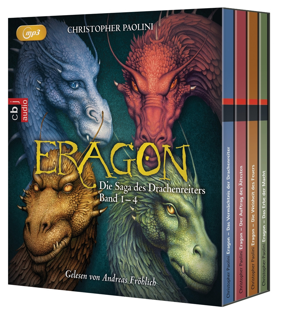 Christopher Paolini - ERAGON – Die Saga des Drachenreiters - Die Box: Die vollständige Hörbuch-Edition Band 1 bis 4
