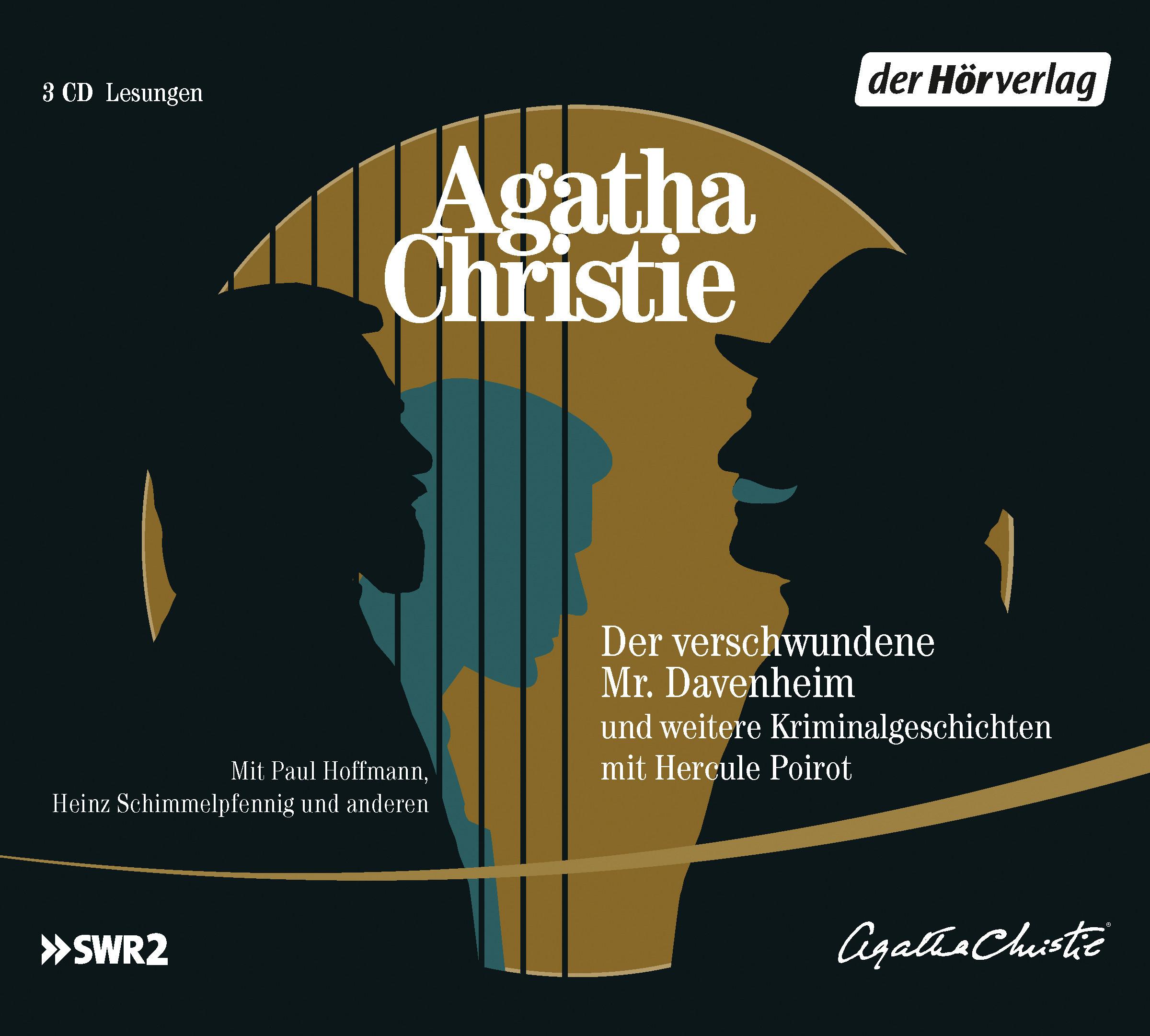 Der verschwundene Mr. Davenheim und weitere Kriminalgeschichten mit Hercule Poirot -