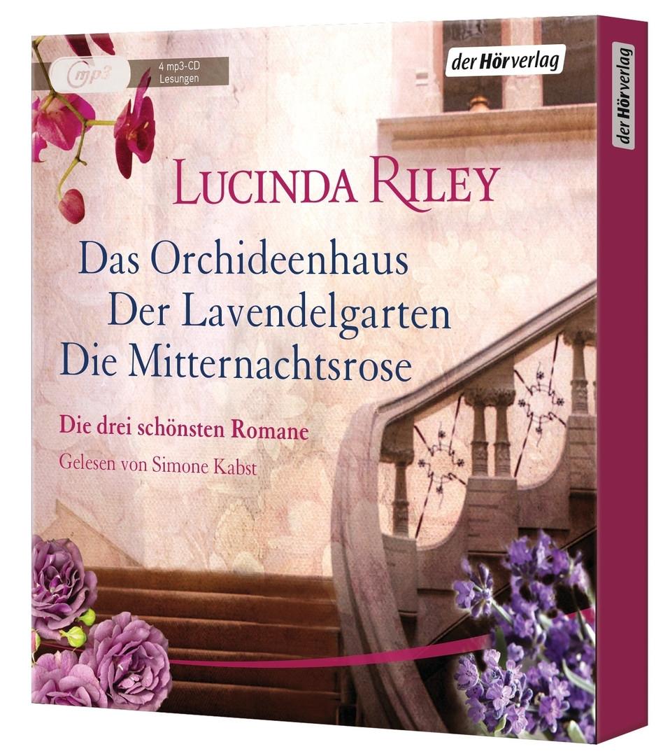 Lucinda Riley - Die große Box: Das Orchideenhaus - Der Lavendelgarten - Die Mitternachtsrose