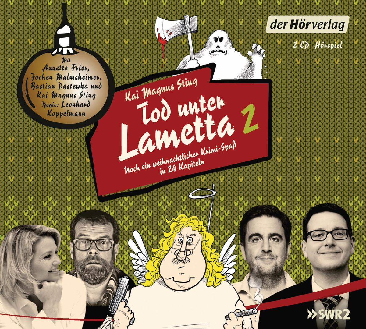 Tod unter Lametta 2: Ein weihnachtlicher Krimi-Spaß in 24 Kapiteln