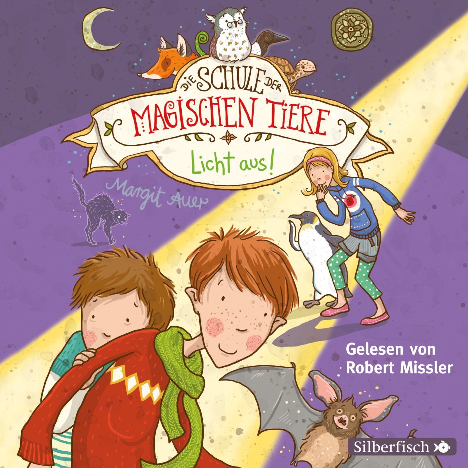 Die Schule der magischen Tiere, Band 3: Licht aus!
