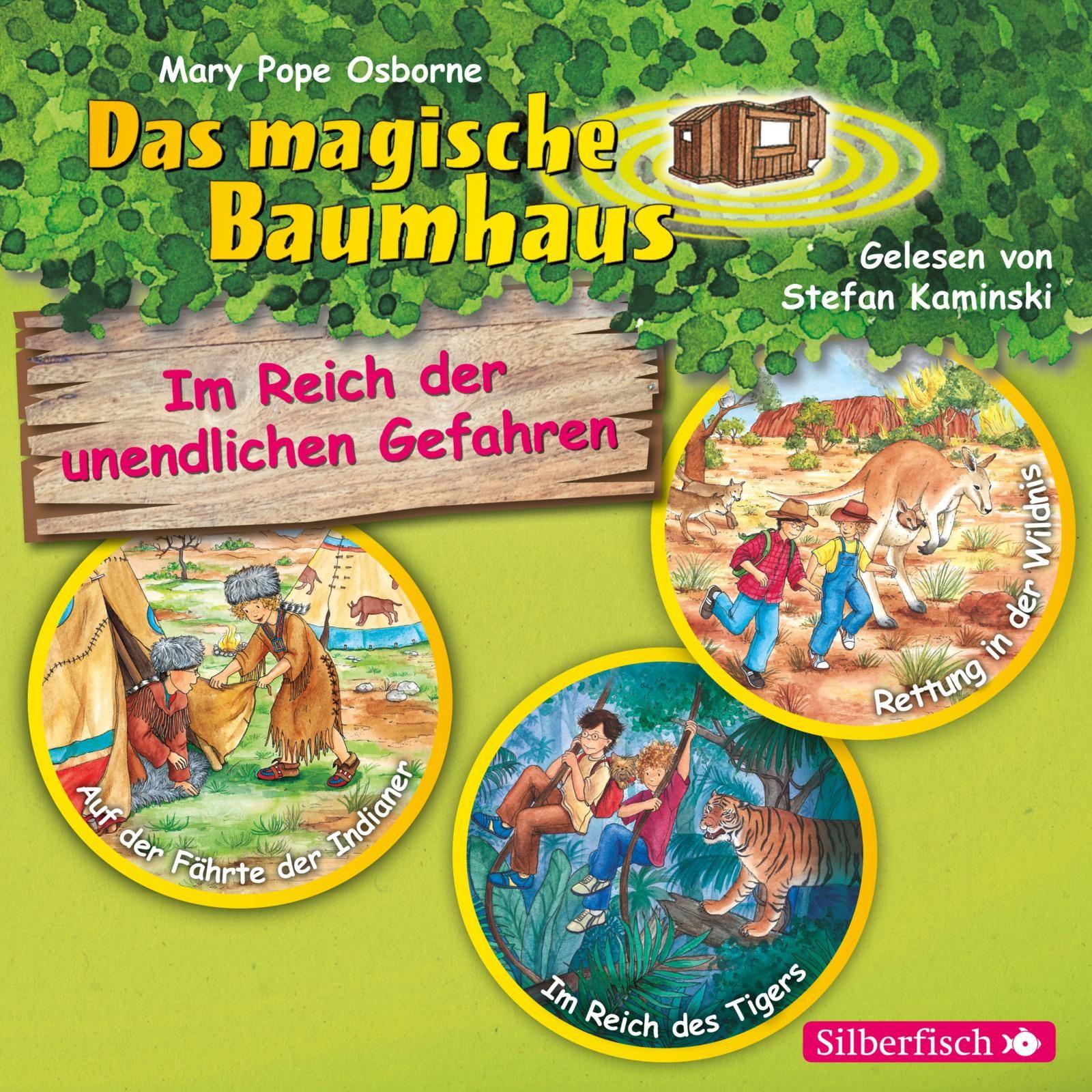 Das magische Baumhaus - Im Reich der unendlichen Gefahren (3er CD-Box)