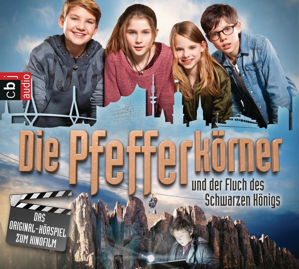 Die Pfefferkörner und der Fluch des schwarzen Königs - Das Original-Hörspiel zum Kinofilm