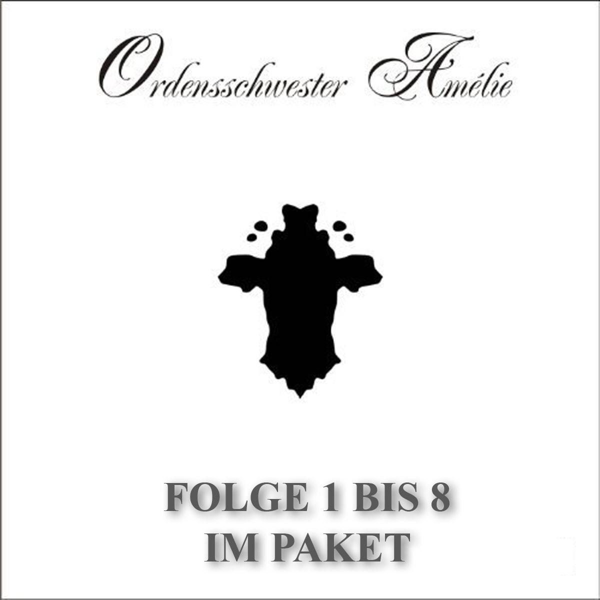 Ordensschwester Amelie Folge 01 - 08 Paket