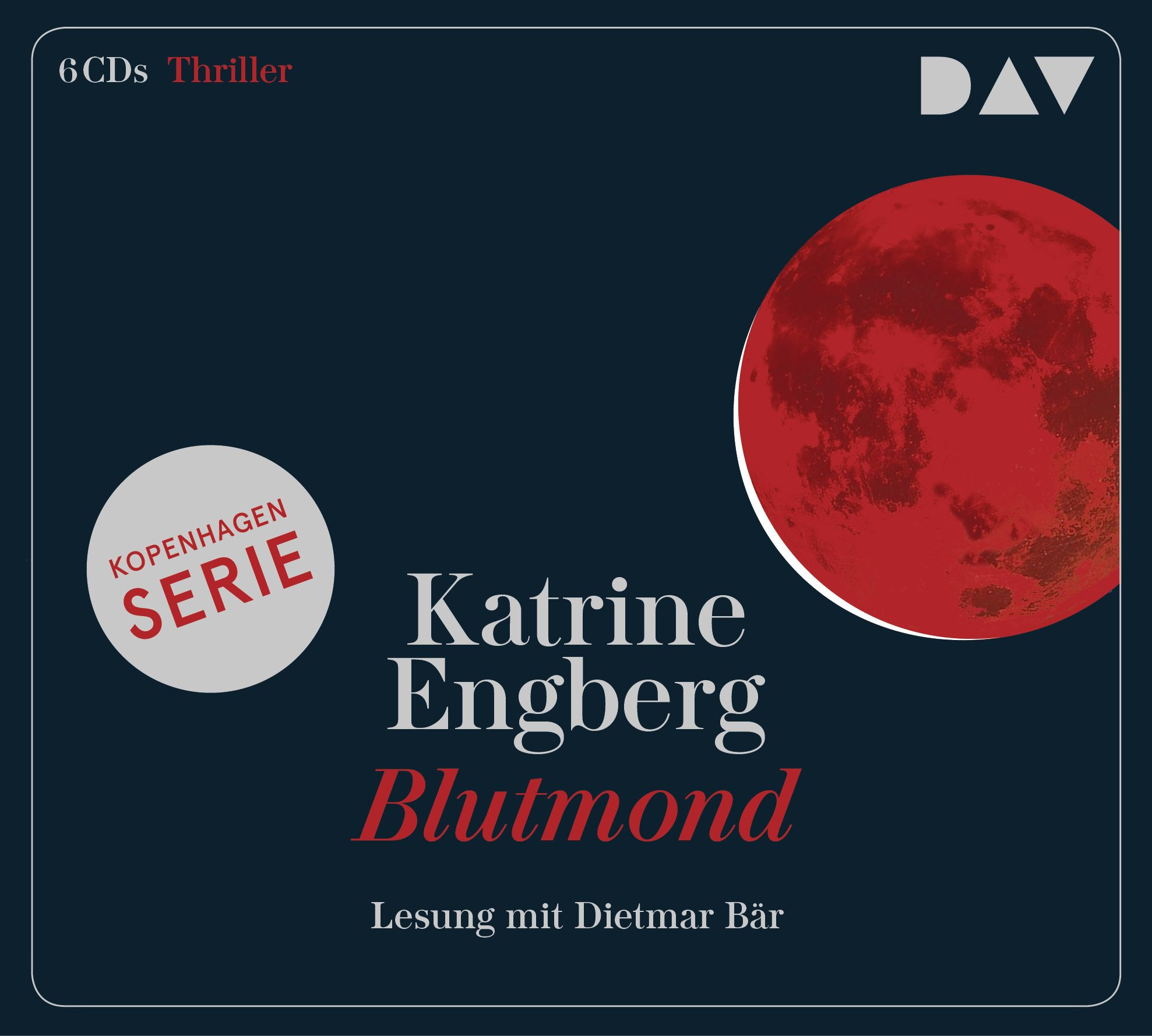 Katerine Engberg - Blutmond. Ein Kopenhagen-Thriller