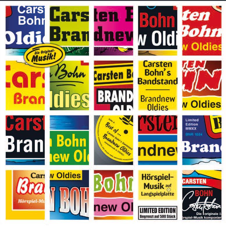 Carsten Bohn's Bandstand - Brandnew Oldies (180g Vinyl LP)