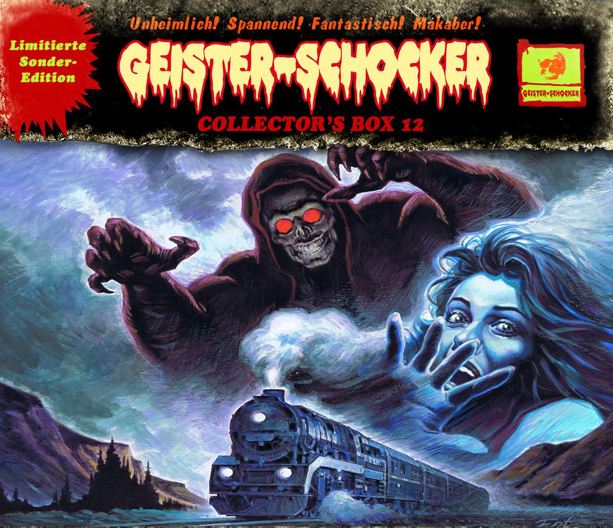 Geister-Schocker Collector's Box 12 (Folge 32-34)