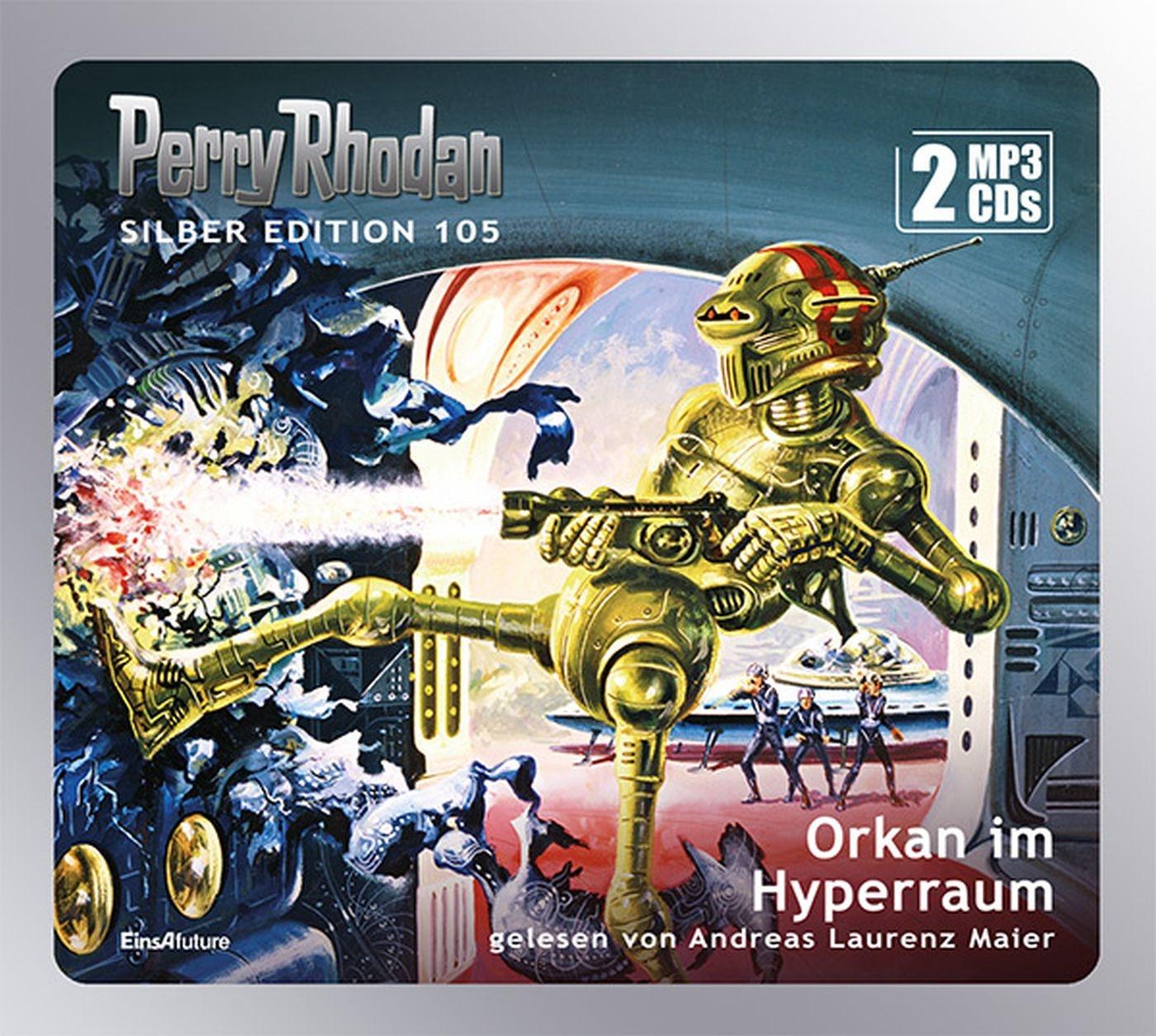 Perry Rhodan Silber Edition 105: Orkan im Hyperraum (2 mp3-CDs)