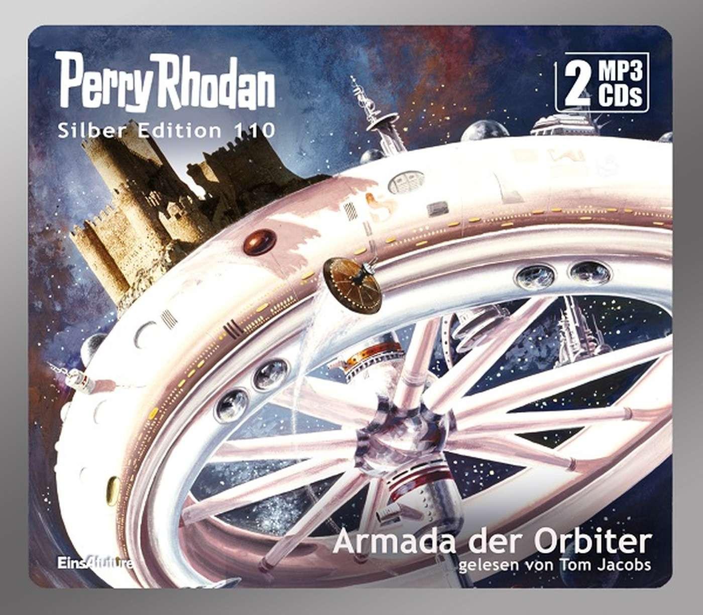 Perry Rhodan Silber Edition 110: Armada der Orbiter (2 mp3-CDs)