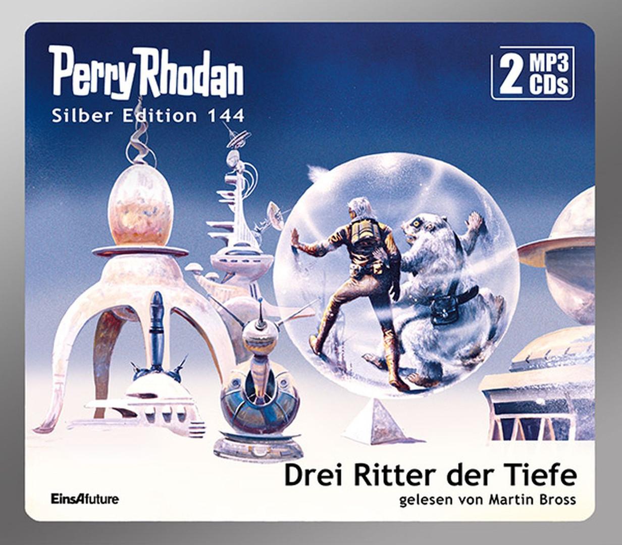 Perry Rhodan Silber Edition 144: Drei Ritter der Tiefe (2 mp3-CDs)