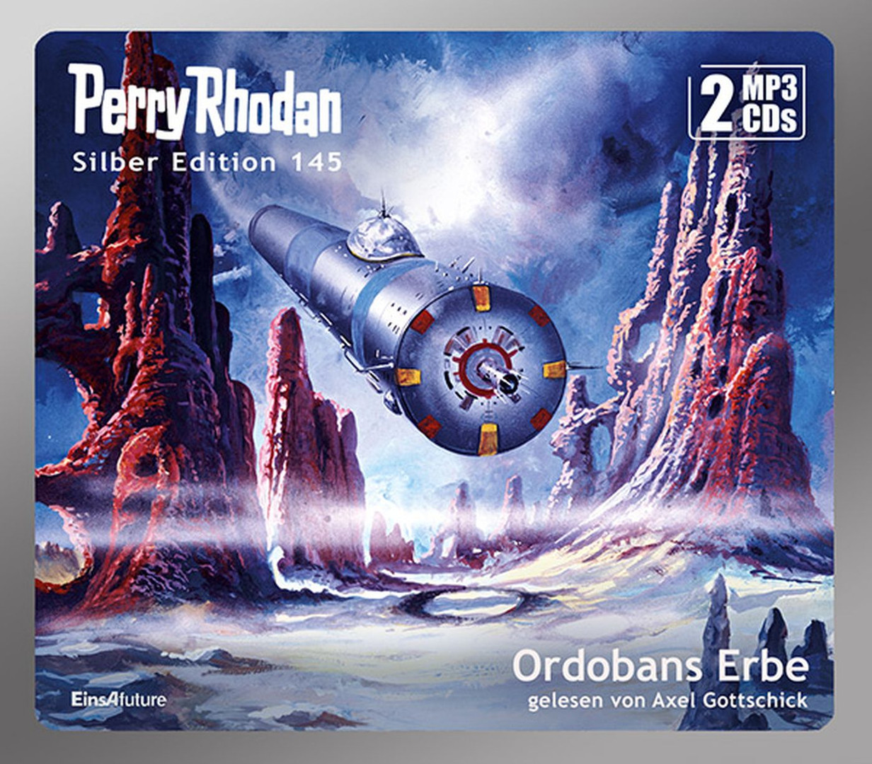 Perry Rhodan Silber Edition 145: Ordobans Erbe (2 mp3-CDs)
