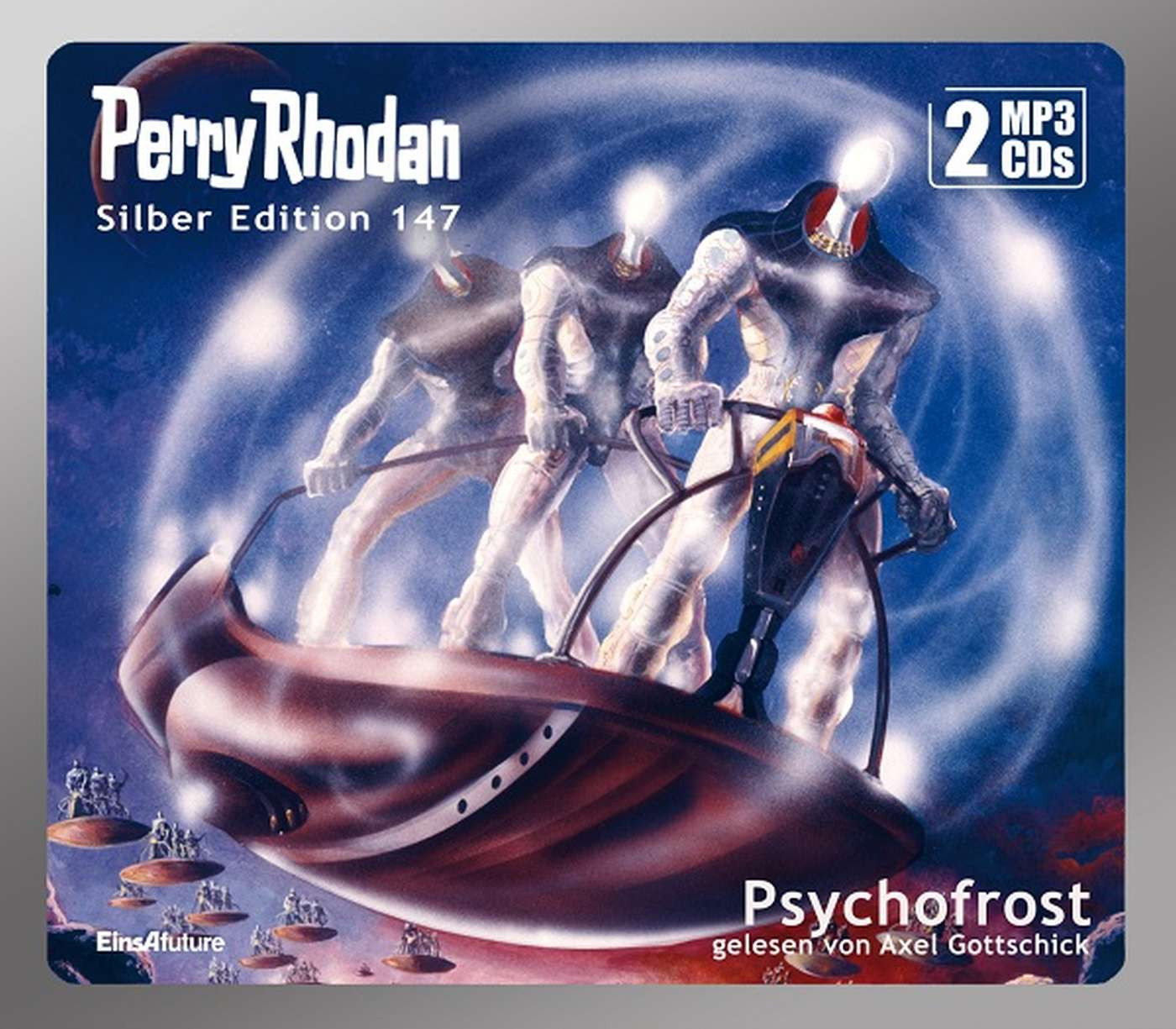 Perry Rhodan Silber Edition 147: Psychofrost (2 mp3-CDs)