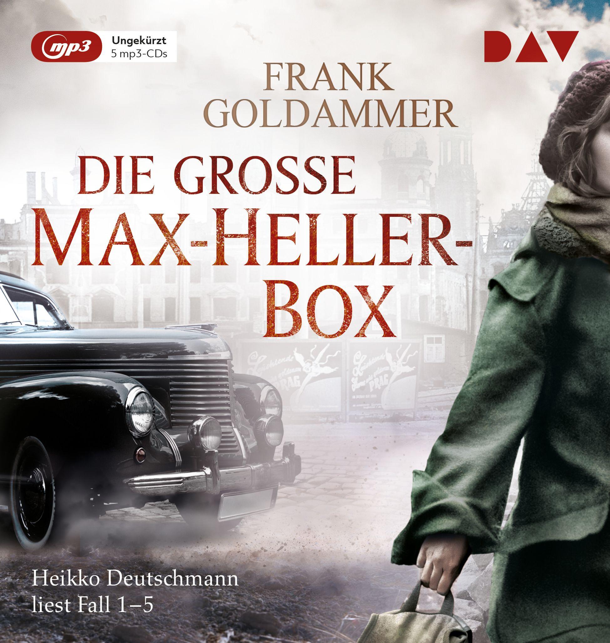 Frank Goldammer - Die große Max-Heller-Box