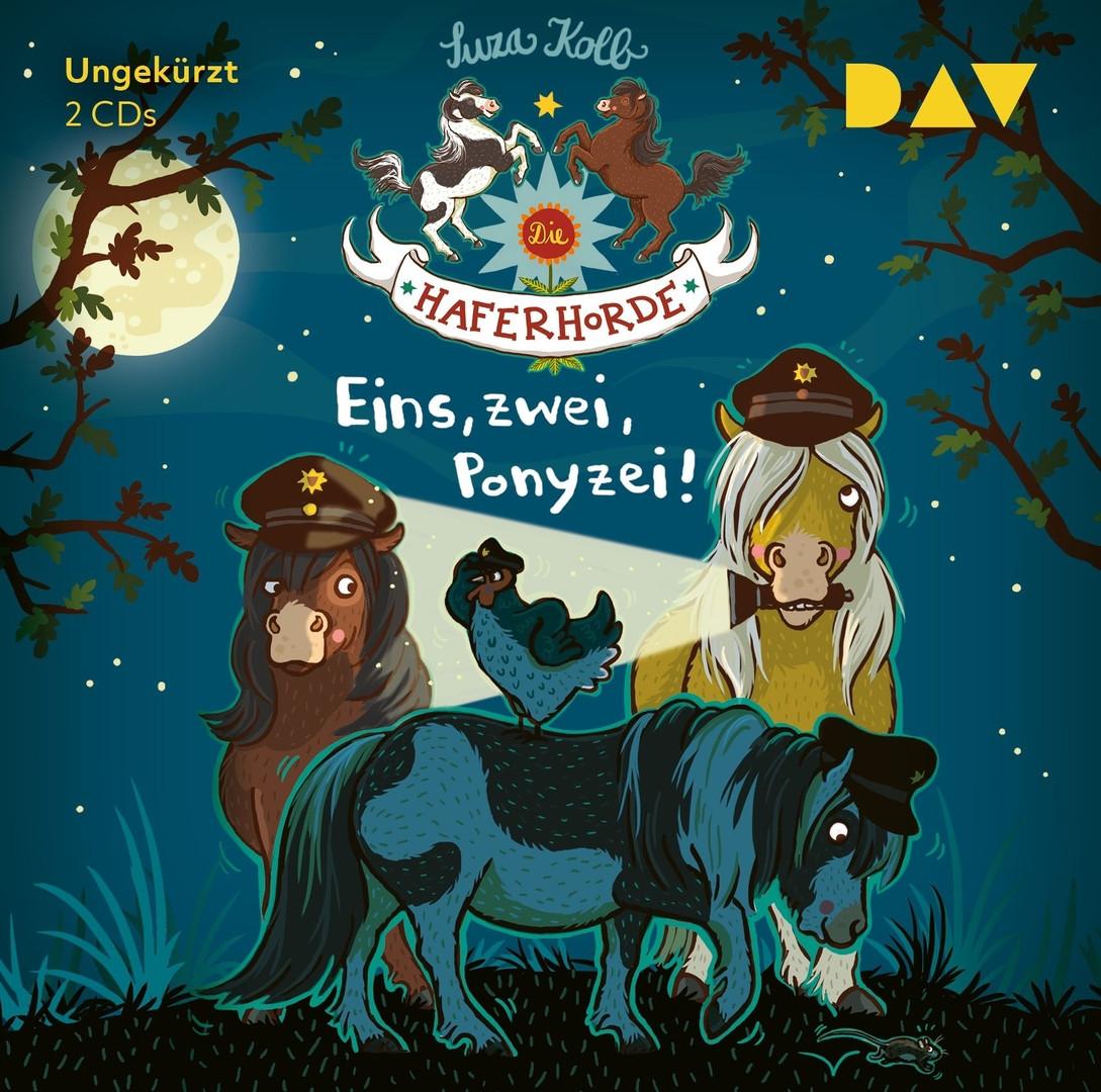 Suza Kolb - Die Haferhorde - Teil 11: Eins, zwei, Ponyzei!