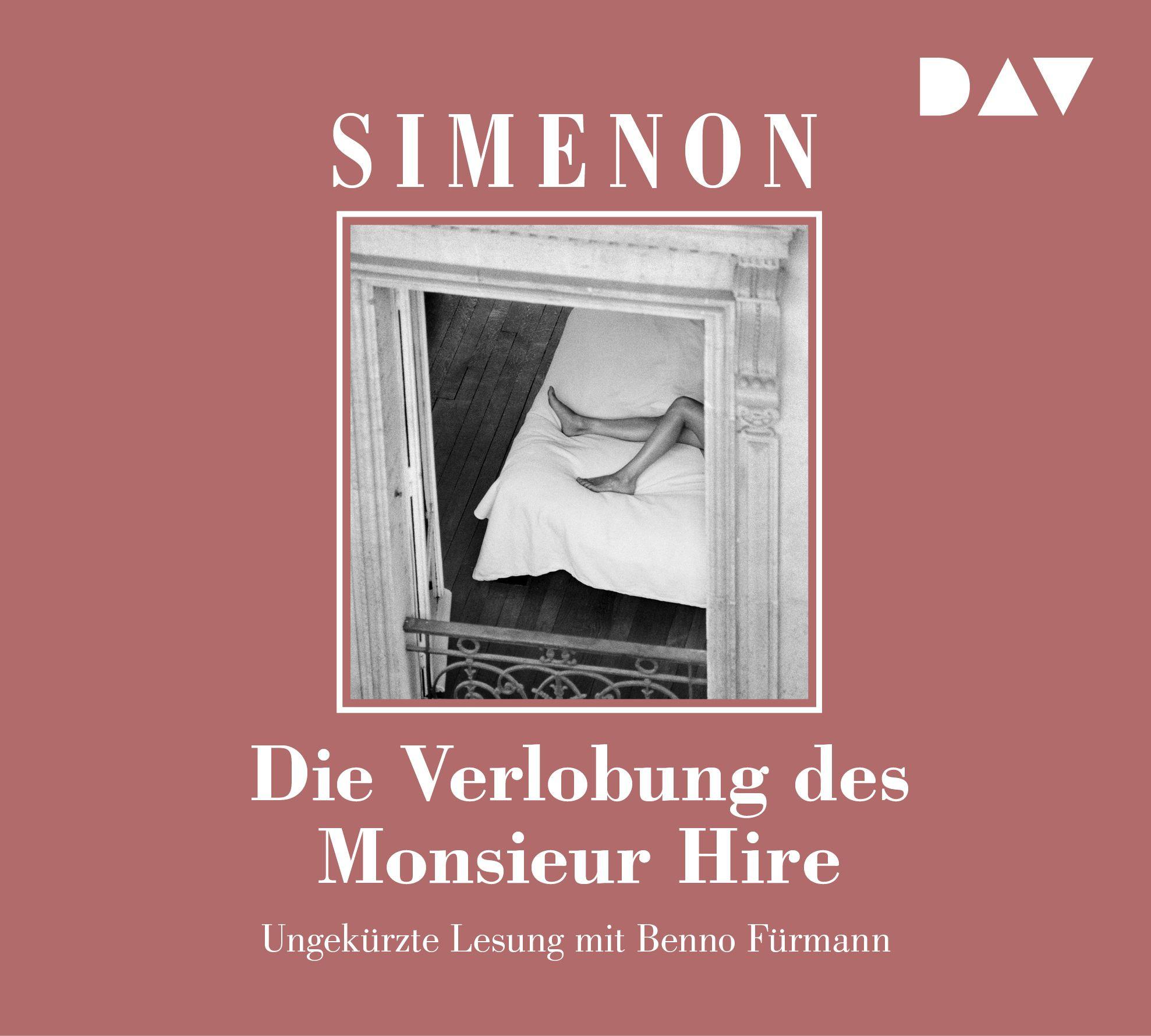 Georges Simenon - Die Verlobung des Monsieur Hire