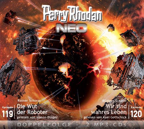 Perry Rhodan Neo MP3 Doppel-CD Episoden 119+120