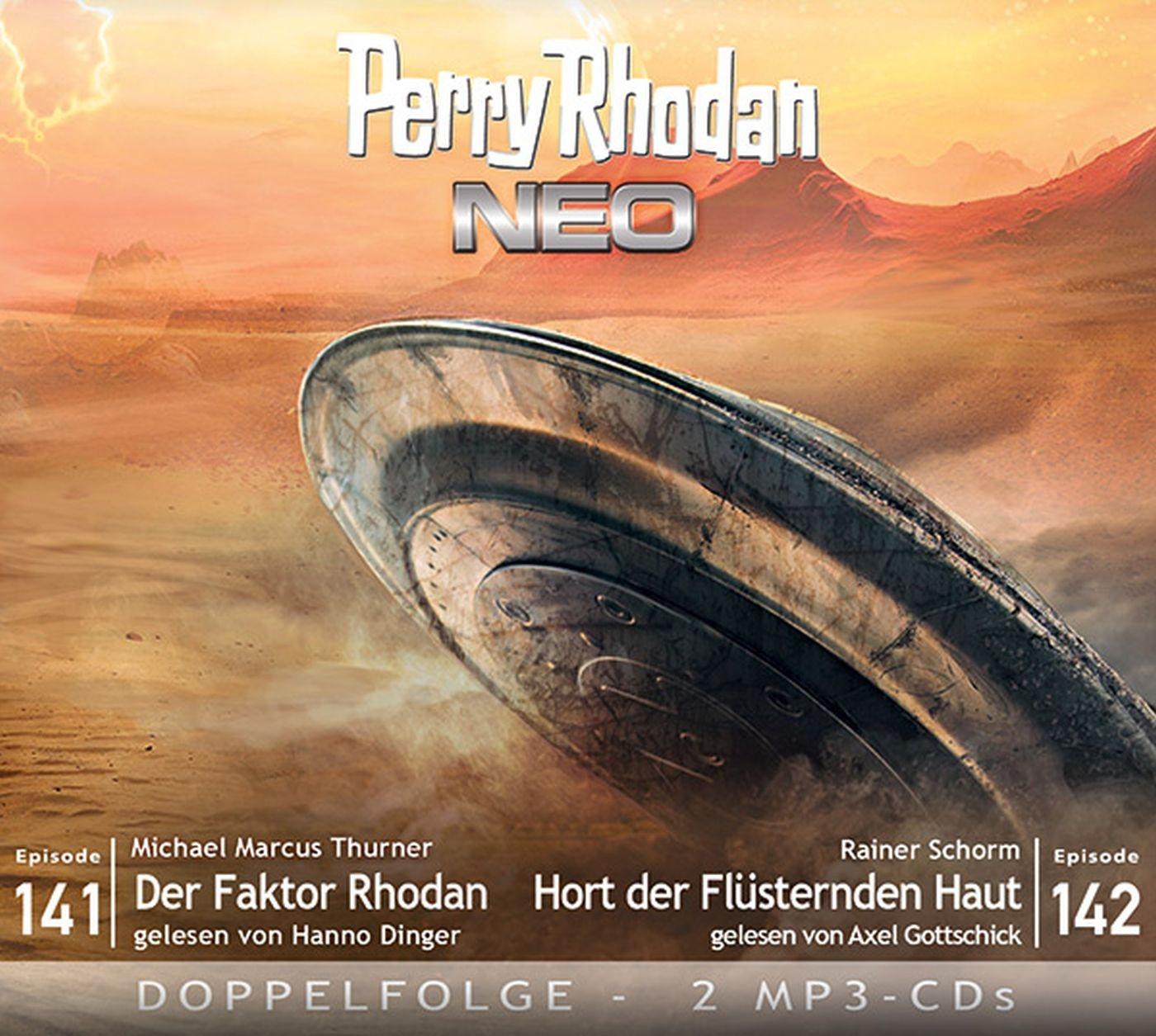 Perry Rhodan Neo MP3 Doppel-CD Episoden 141+142