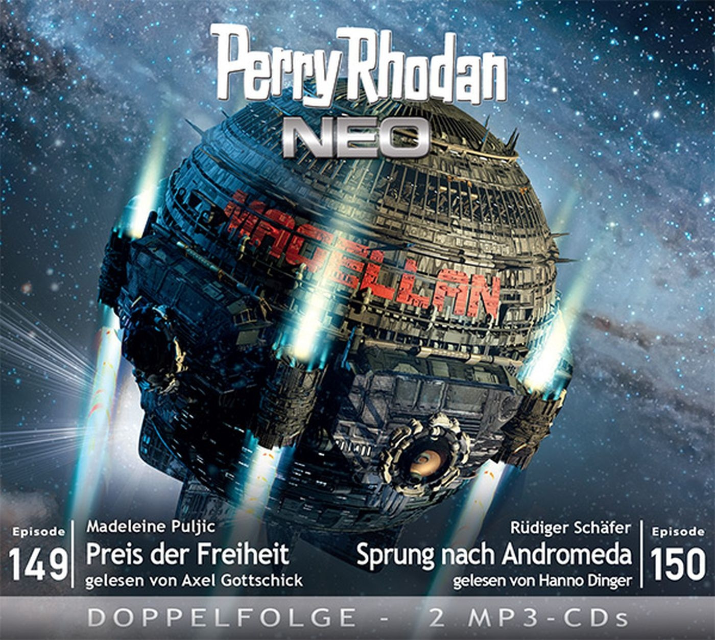 Perry Rhodan Neo MP3 Doppel-CD Episoden 149+150