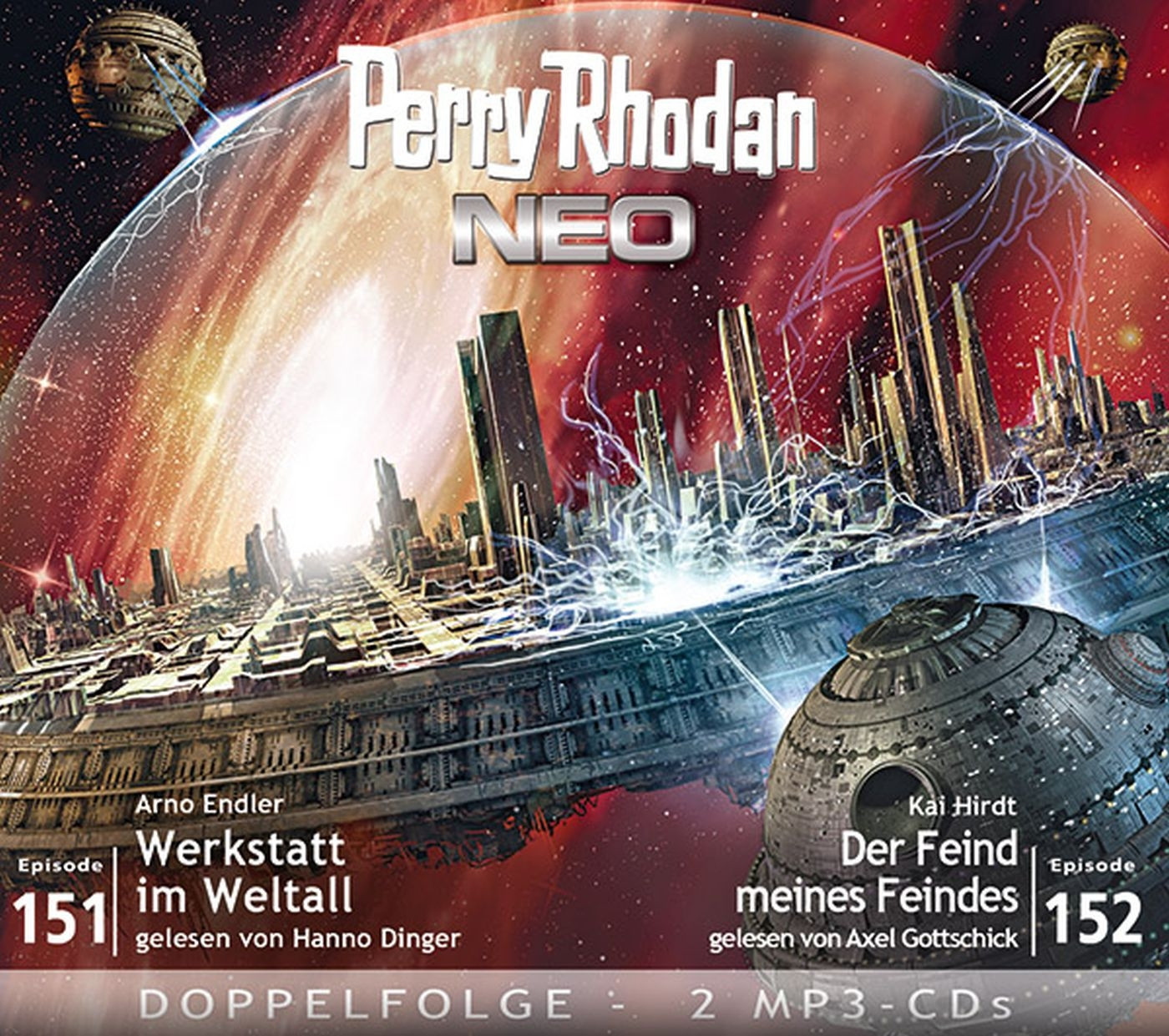 Perry Rhodan Neo MP3 Doppel-CD Episoden 151+152