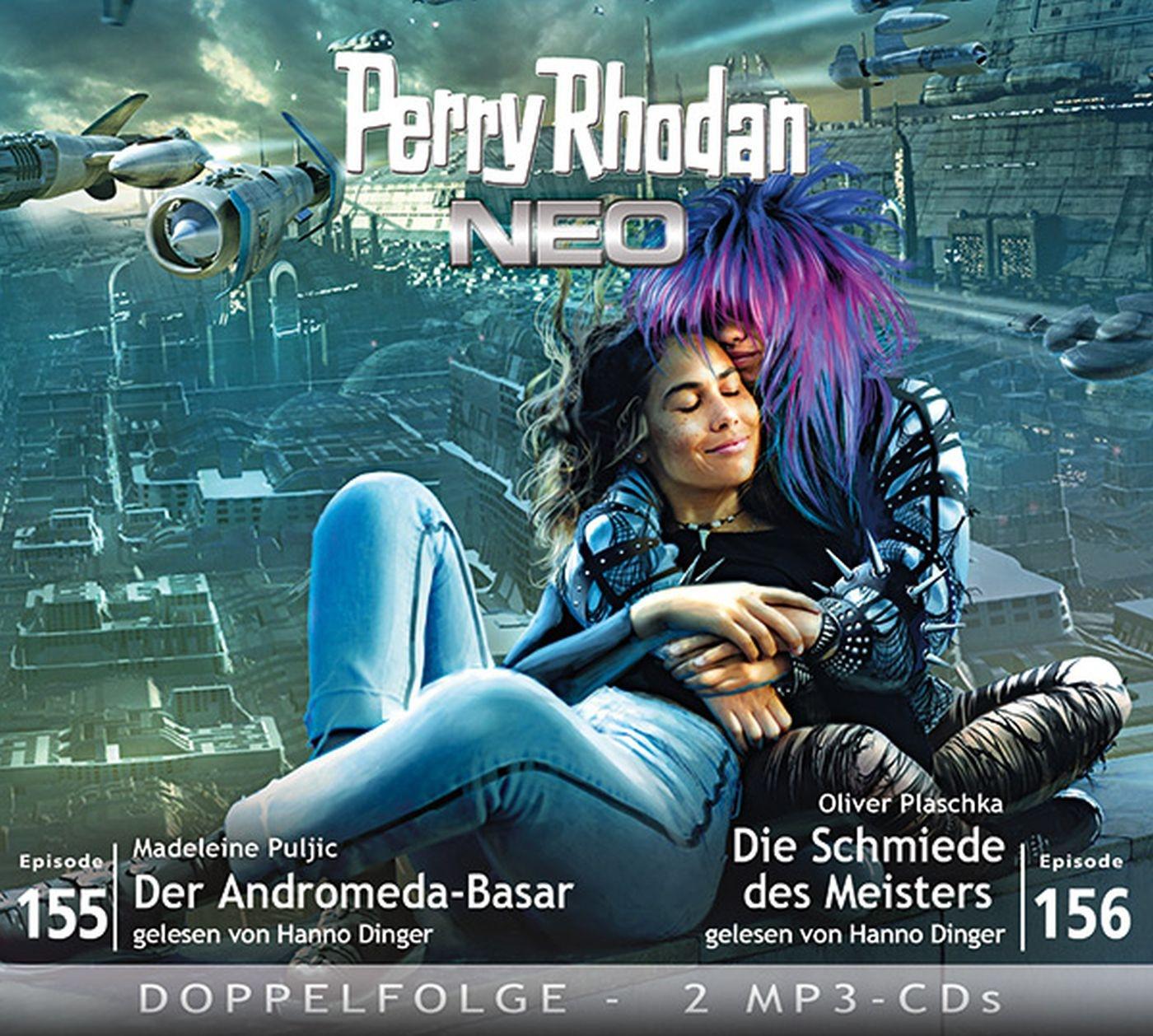 Perry Rhodan Neo MP3 Doppel-CD Episoden 155+156