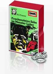 MC Europa Neon Gruselserie 01 Frankensteins Sohn im Monster-Labor