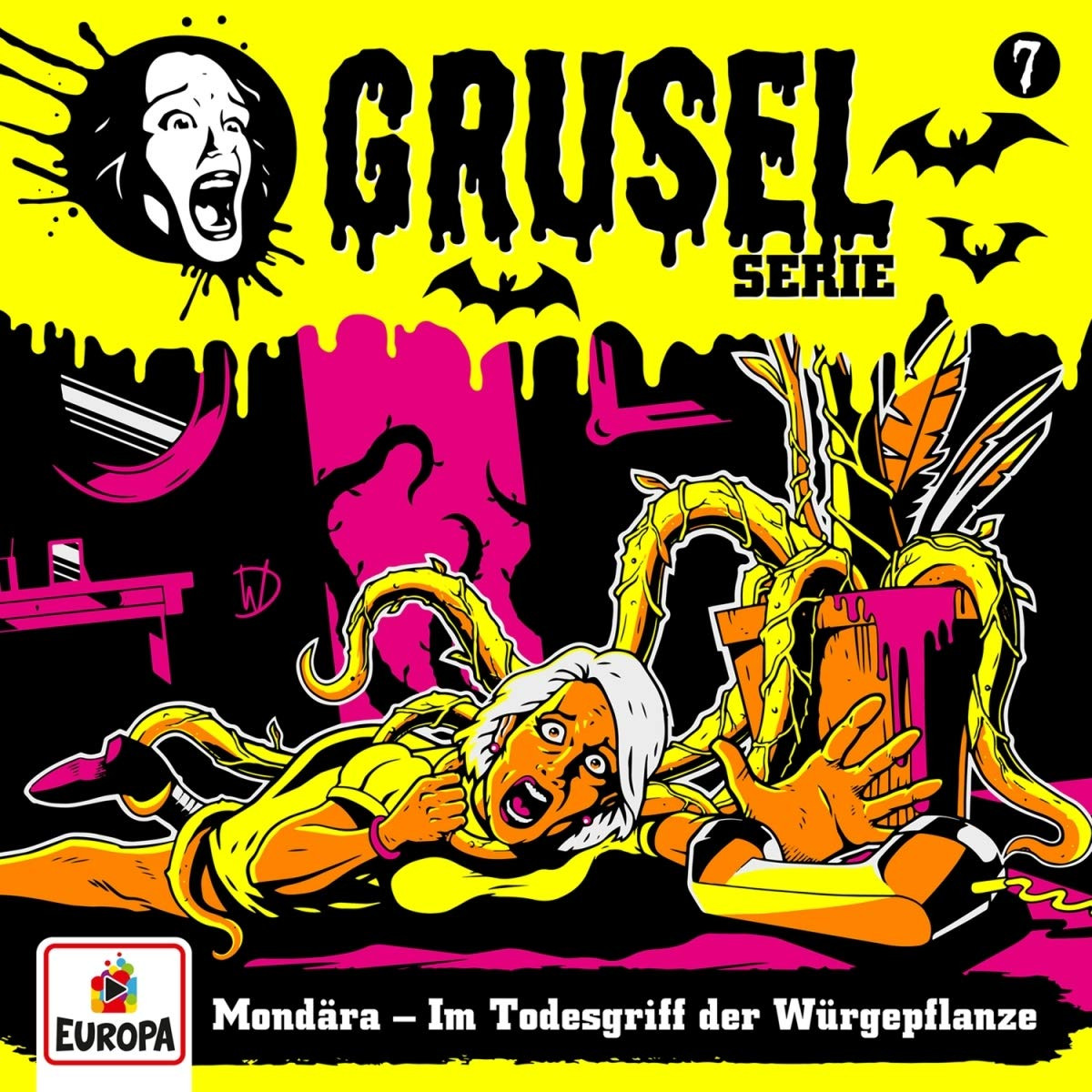 Gruselserie - Folge 7: Mondära - Im Todesgriff der Würgepflanze (CD)