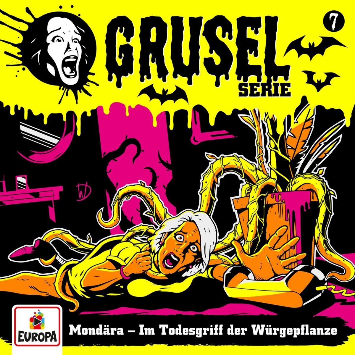 Gruselserie - Folge 7: Mondära - Im Todesgriff der Würgepflanze (LP)
