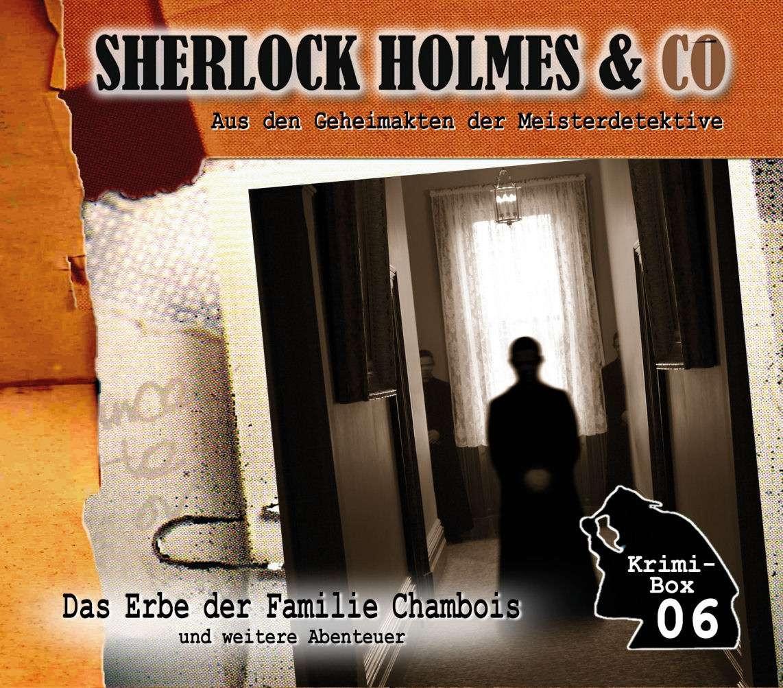 Sherlock Holmes und Co. Krimi-Box 6: mit den Folgen 16-18