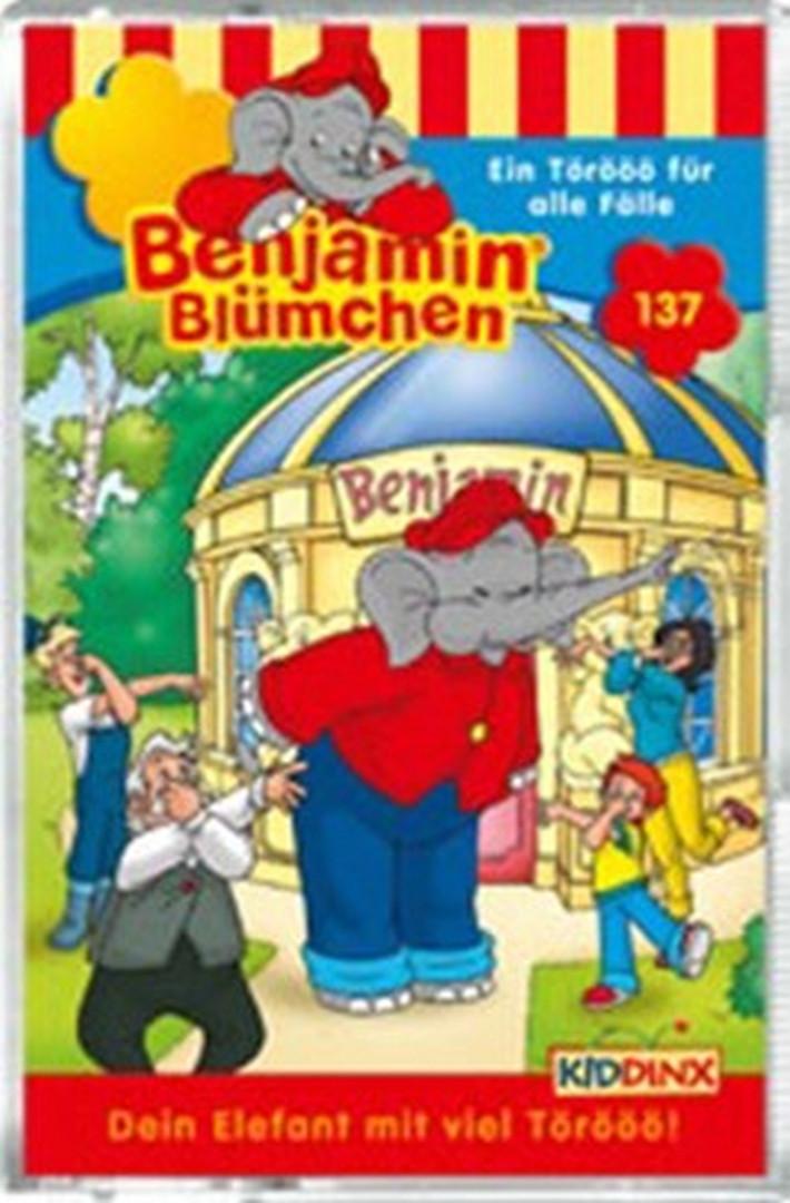 Benjamin Blümchen - Folge 137: Ein Törööö für alle Fälle (Geburtstagsfolge) (MC)