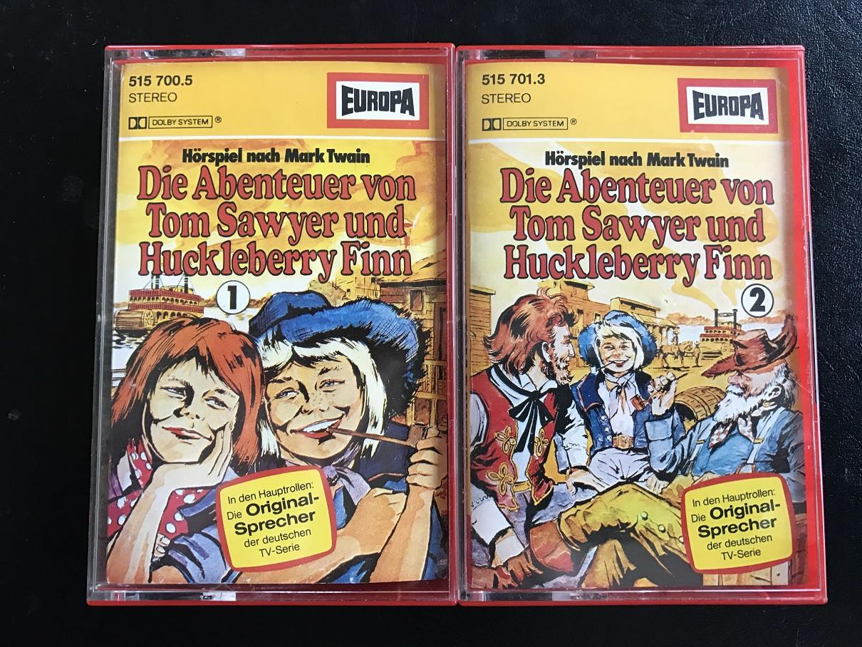 MC Europa Abenteuer des Tom Sawyer + Huckleberry Finn 1+2