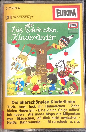 MC Europa Die allerschönsten Kinderlieder