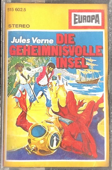 MC Europa Jules Verne Die geheimnisvolle Insel