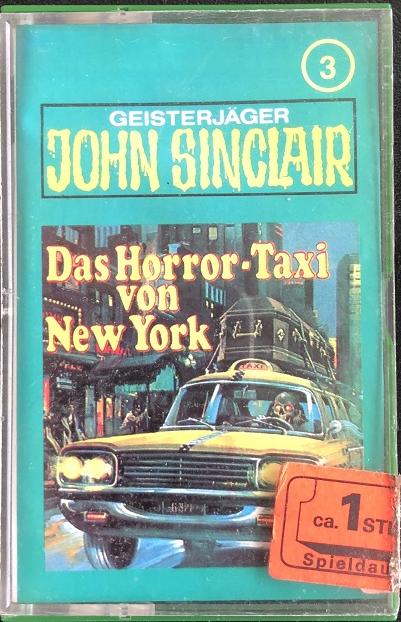 MC TSB John Sinclair 003 Das Horror-Taxi von New York