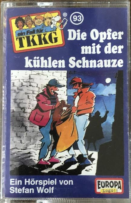 MC TKKG 093 Die Opfer mit der kühlen Schnauze