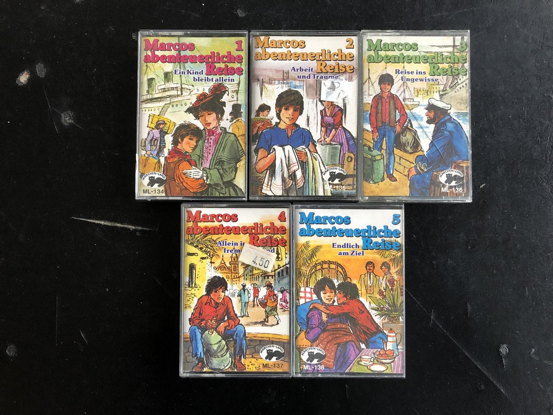 MC Märchenland 134 - 138 Marcos abenteurliche Reise Folge 1-5
