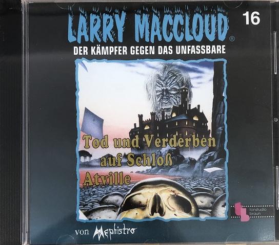 Larry MacCloud 16 Tod und Verderben auf Schloss Atville