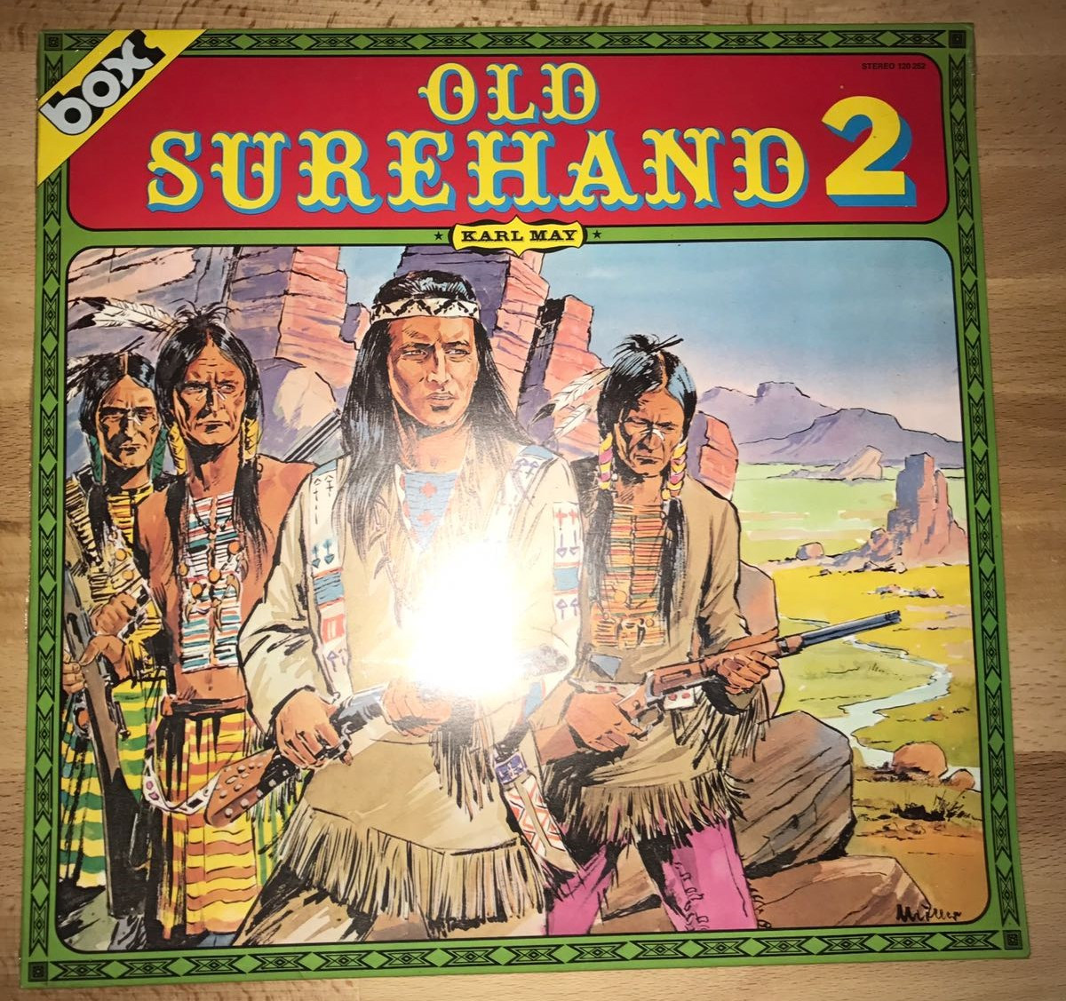 LP BOX Karl May - Old Surehand 2