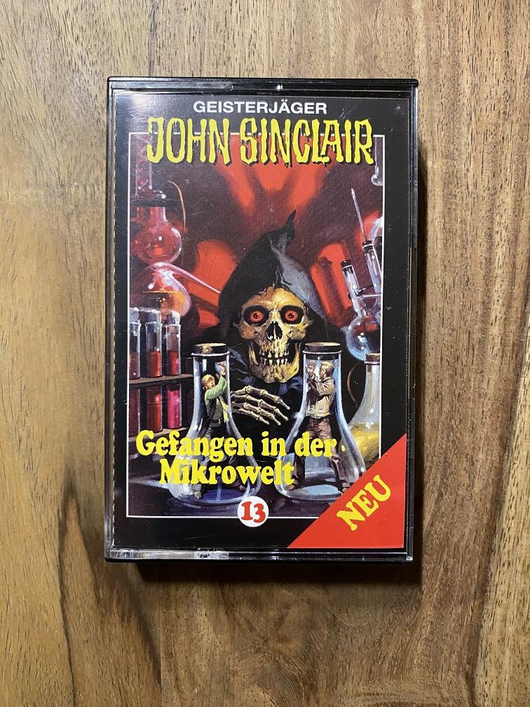 MC John Sinclair 13 Gefangen in der Mikrowelt