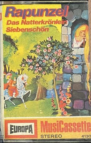MC Europa 4130 Rapunzel / Das Natterkrönlein / Siebenschön