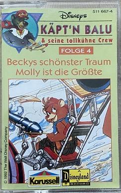 MC Karussell Käpt´n Balu 4 - Beckys schönster Traum / Molly ist die Größte