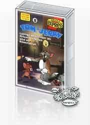 MC Ariola Tom + Jerry 8 Lustige Abenteuer als Privatdetektiv und als Rennfahrer