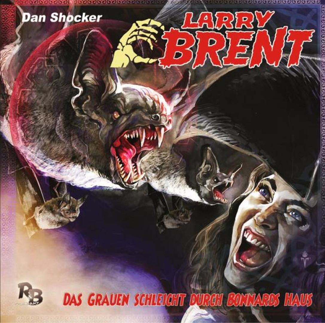 Larry Brent - Folge 27: Das Grauen schleicht durch Bonnards