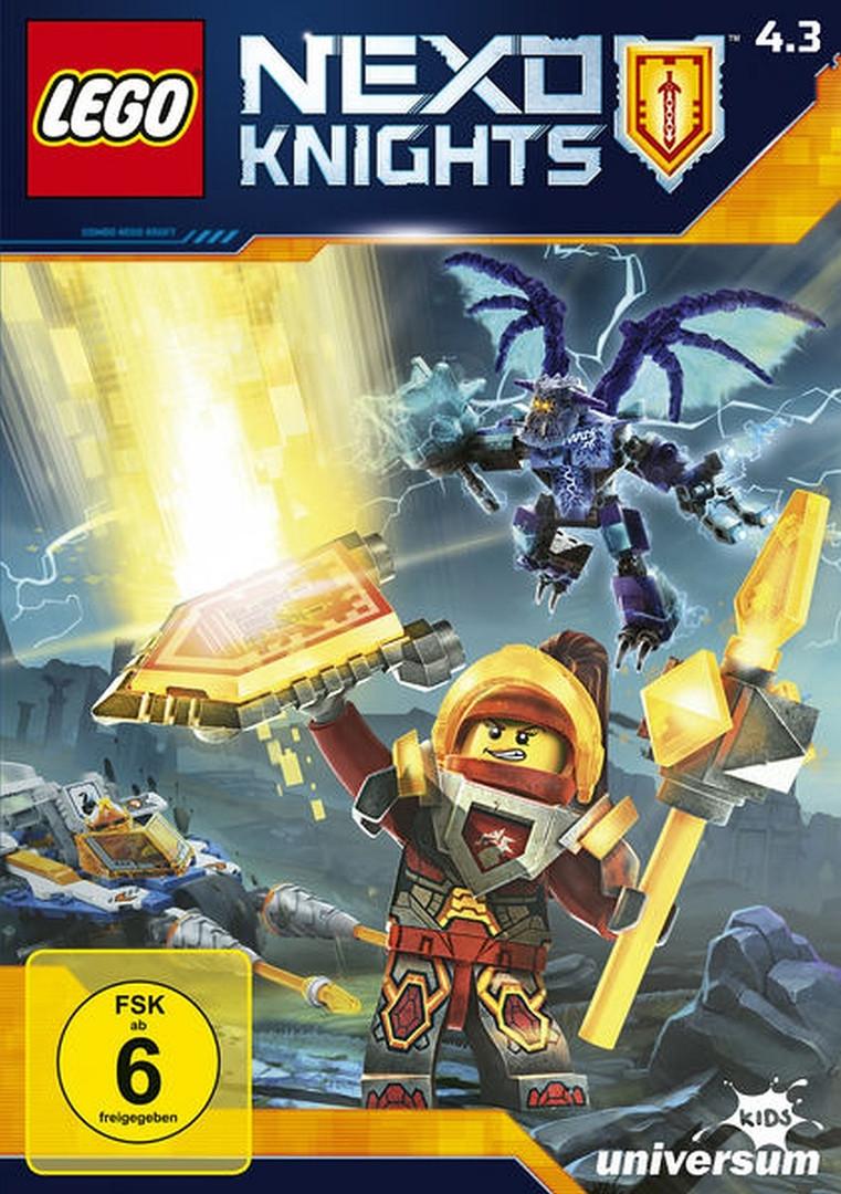 LEGO Nexo Knights - Staffel 4.3 - Episode 37-40 (DVD)