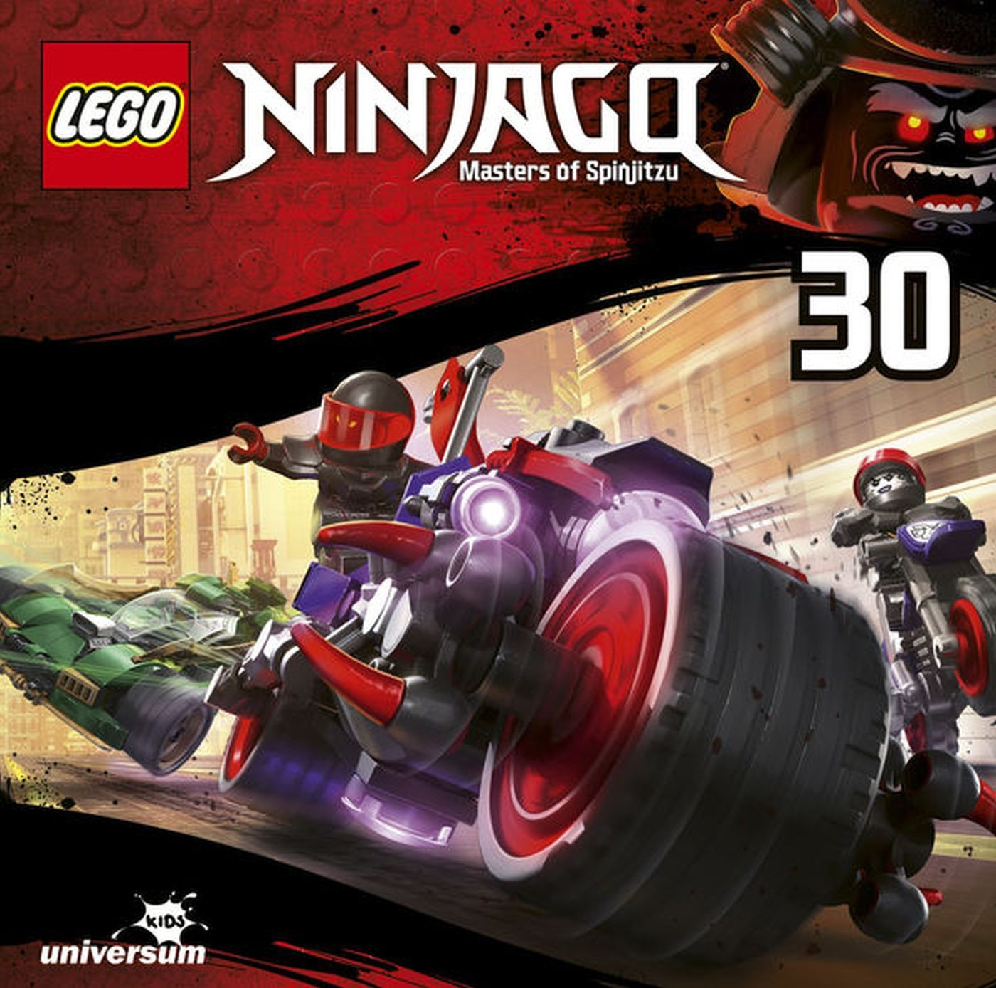 LEGO Ninjago 8. Staffel (CD 30)