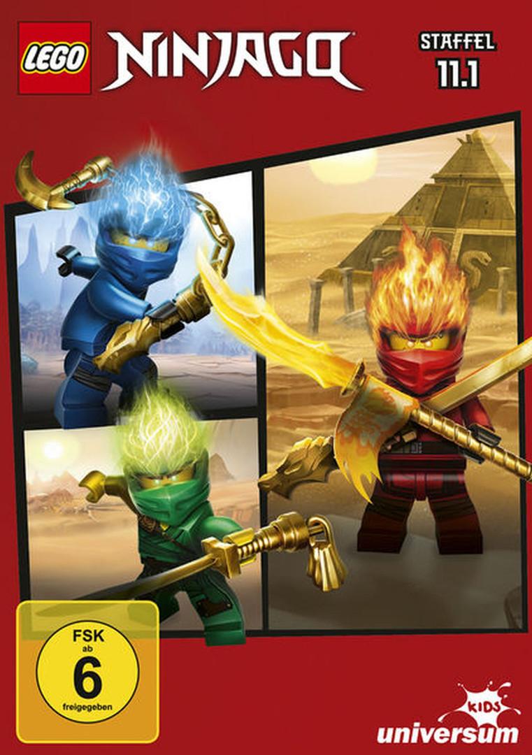 LEGO Ninjago - Staffel 11.1 (DVD)