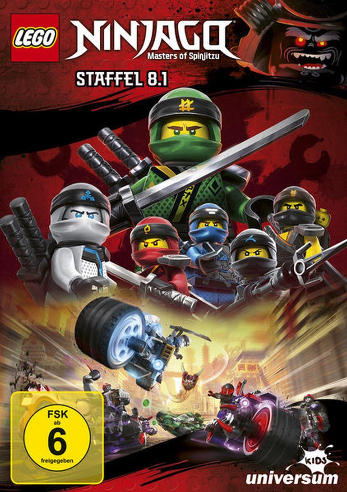 LEGO Ninjago - Staffel 8.1 (DVD)