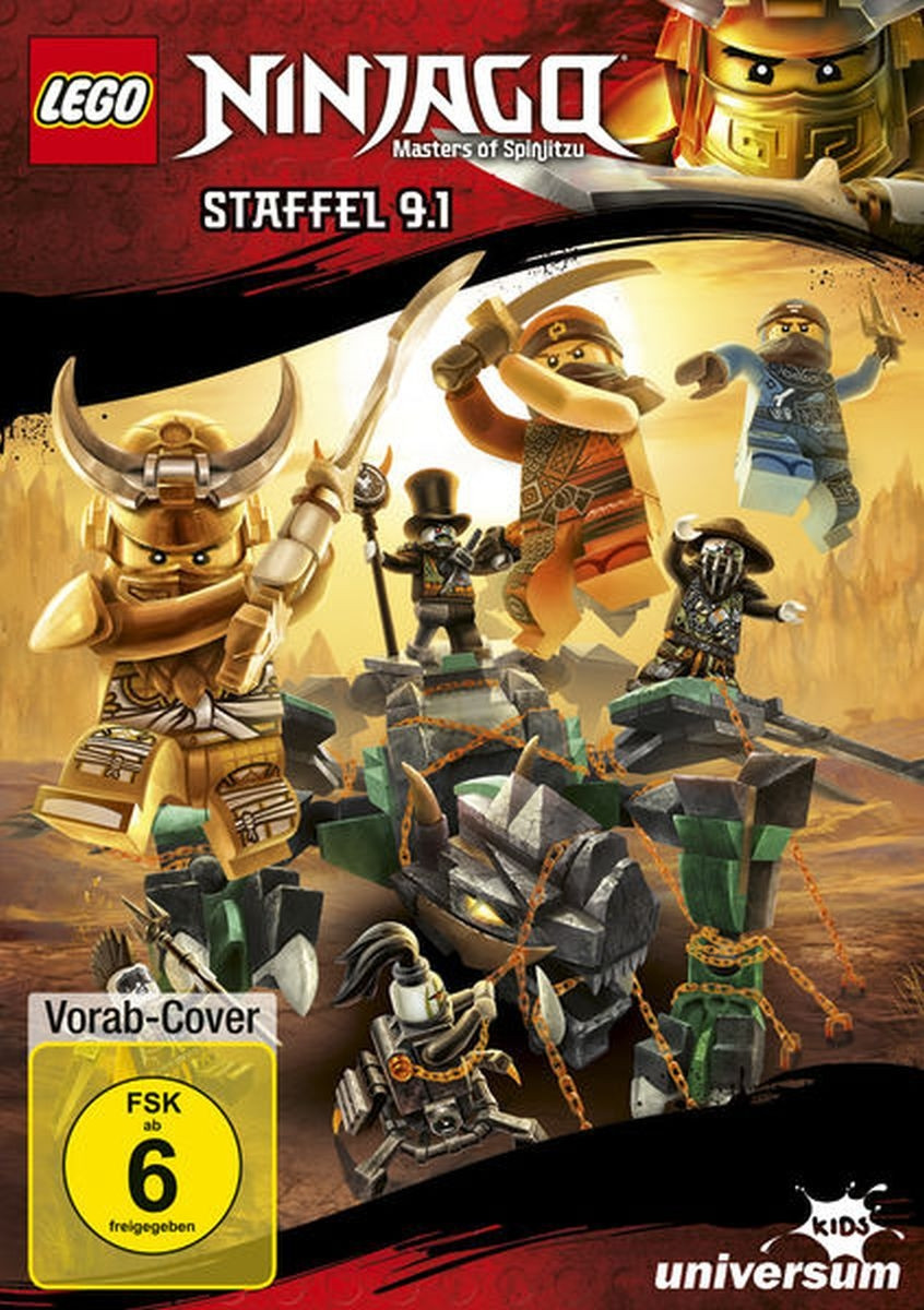 LEGO Ninjago - Staffel 9.1 (DVD)