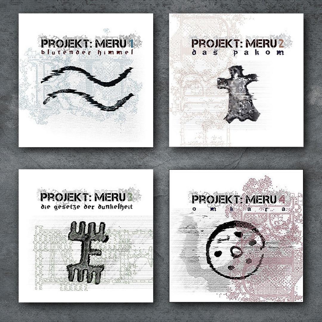 PROJEKT: MERU CD 1 bis 4 im Paket